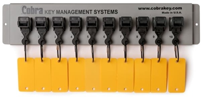 Cobra Key Management - 10 Key Wall Mount