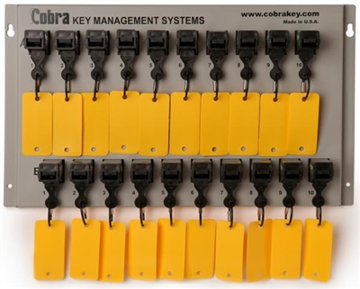 Cobra Key Management - 20 Key Wall Mount