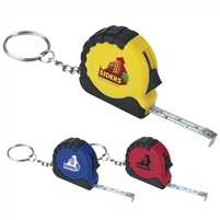 Mini Tape Measure Key Chain