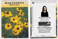 Black Eyed Susan Personalized Seed Packets