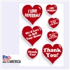 Real Estate Heart Stickers