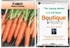 Carrot Personalized Seed Packets