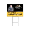 "Custom Coroplast 18"" x 24"" Sign and H-Stake Bundle"