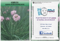 Chive Custom Printed Seed Packets