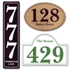 Custom House Address Plaque