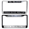 Personalized License Plate Frames