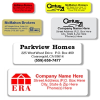 Personalized Rectangular Labels