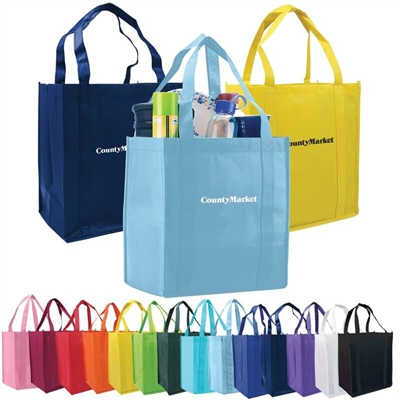 Grocery Non Woven Tote Custom Printed