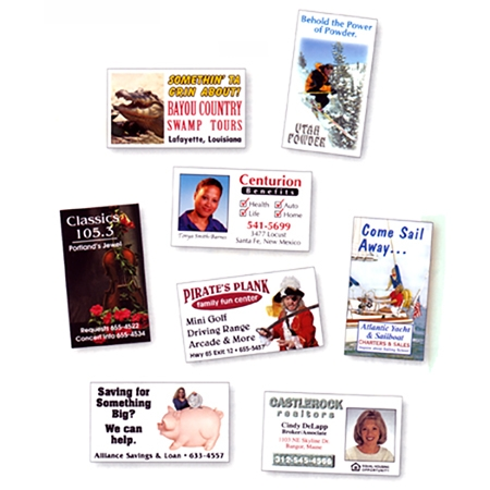 Full color business card magnets reheart Choice Image