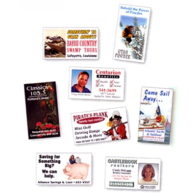 Full Color Business Card Magnets