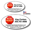Custom Oval Labels