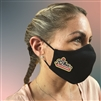 Personalized Cotton Three Ply Mask with Full Color Logo and Adjustable Straps