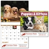 Puppies & Kittens Full Size Calendar