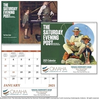 The Saturday Evening Post Full Size Calendar