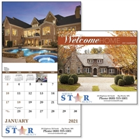 Welcome Home - Full Size Calendar