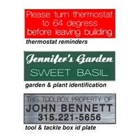ID/ Message Sign Plates