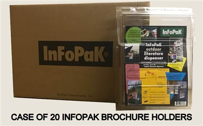 Case of 20 INFOPAK Literature Dispensers