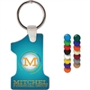 Number 1 Soft Vinyl Key Chains