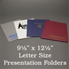 Custom Letter Size Presentation Folders