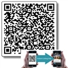 "QR Code Vinyl Outdoor Labels 1"" and 2"""