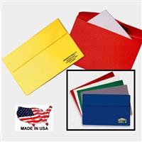 Custom Letter Size Vinyl Flap Portfolios