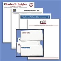 Custom Letterheads and Envelopes
