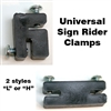 Sign Clamps L or H Style