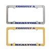 Consult A Realtor License Plate Frames