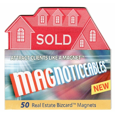 Magnoticeable Business Card Magnets