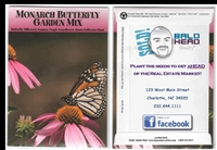 Monarch Butterfly Personalized Seed Packets