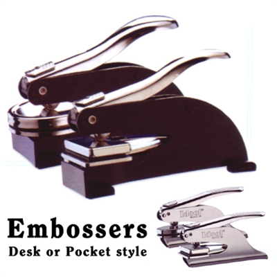 Desk or Pocket Embosser