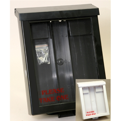 Deluxe Outdoor Brochure Box & Card Holder