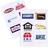 National Franchise Clear Logo Decals - Set of 6