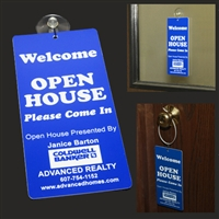 Open House Door Hanger
