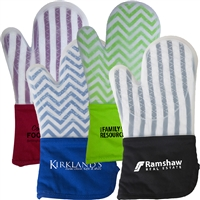 Frosted Silicone Premium Oven Mitt