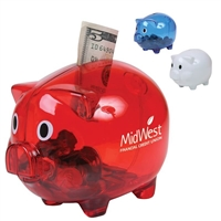 Piggy Bank Custom Printed