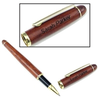 Personalized Classic Wood Cap Pen