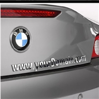 PID Plates - Auto Advertising Emblems