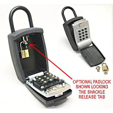 Key Guard Pro Portable Lock Box