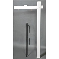 Real Estate Vinyl Sign Post - 2 Pack