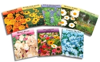 Flower Seed Packets - No Imprint