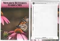 Monarch Butterfly Flower Seed Packets - Blank