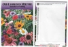 Old Fashioned Mix Flower Seed Packets Blank