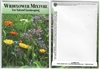 Wildflower Mixture Flower Seed Packets Blank