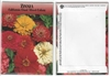 Zinnia Flower Seed Packets Blank