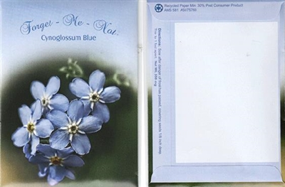 Theme Series Blue Forget Me Not
