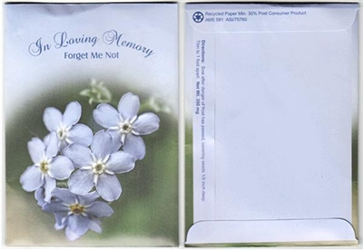 In Loving Memory Seed Packets