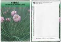Chives Herb Seed Packets - Blank