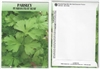 Parsley Herb Seed Packets - Blank