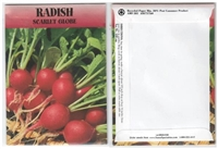 Radish Vegetable Seed Packets - Blank